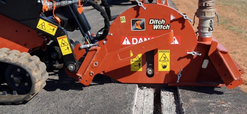 Industry-First Ditch Witch MT9 Microtrencher Attachment Cuts Costs, Improves ROI On Fibre Jobsites
