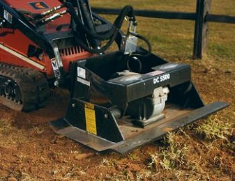 PLATE COMPACTOR ATTACHMENT