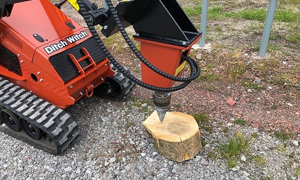 CONE LOG SPLITTER ATTACHMENT