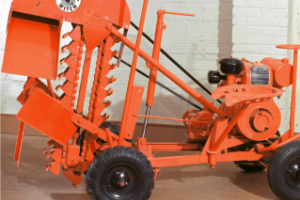 The DWP - the original Ditch Witch compact trencher