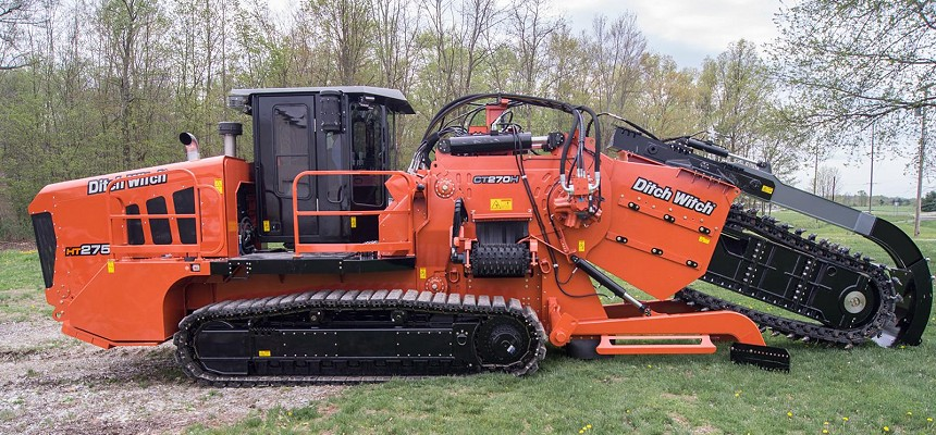 DITCH WITCH INTRODUCES HEAVY-DUTY TRENCHER