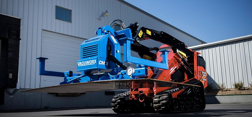 Ditch Witch Organisation Partners with Vacuworx®, Vacuum Lifting Equipment Manufacturer