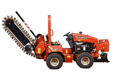 RT45 - Ride-On Trencher